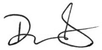 Dan Gluesenkamp Signature